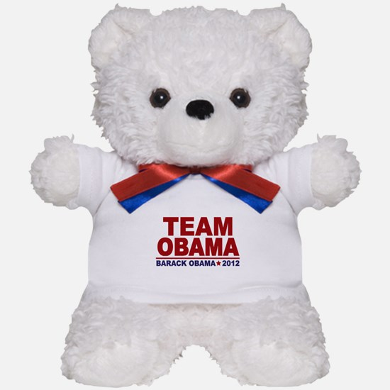 Team Obama 2012 Teddy Bear
