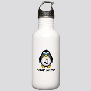 Personalized Music Penguin Stainless Water Bottle