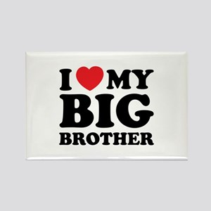 I love my big brother Rectangle Magnet