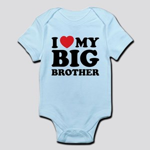 I love my big brother Infant Bodysuit