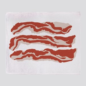 Bring Home the Bacon! Throw Blanket
