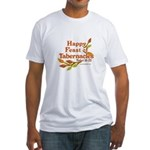 Happy Feast of Tabernacles Fitted T-Shirt