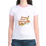 Happy Feast of Tabernacles Jr. Ringer T-Shirt