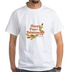 Happy Feast of Tabernacles White T-Shirt
