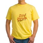 Happy Feast of Tabernacles Yellow T-Shirt