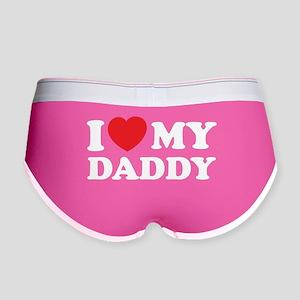 I love my daddy Women's Boy Brief