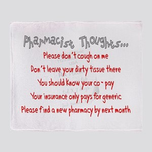Pharmacist II Throw Blanket