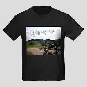 Gettysburg Ash Grey T-Shirt