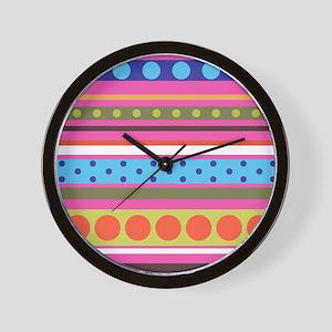 Polka and More Wall Clock
