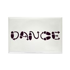 Dance Rectangle Magnet