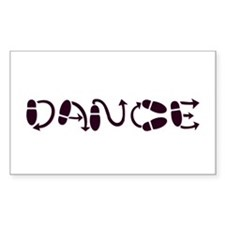 Dance Rectangle Sticker