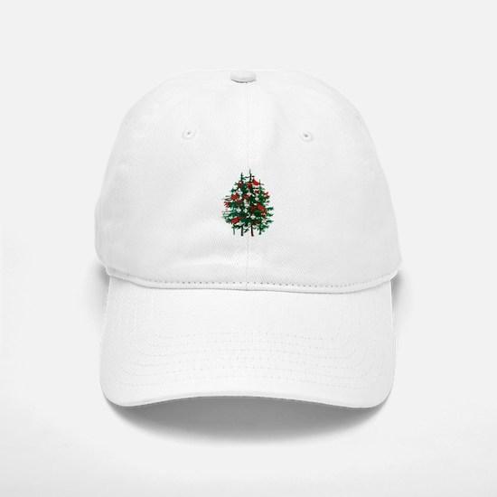 Baseball Christmas Tree Baseball Baseball Cap
