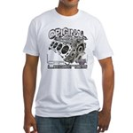 CarLegends Engine Fitted T-Shirt