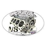 Original V8 Sticker (Oval 10 pk)
