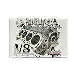 Original V8 Rectangle Magnet (100 pack)