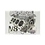 Original V8 Rectangle Magnet