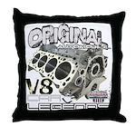 Original V8 Throw Pillow
