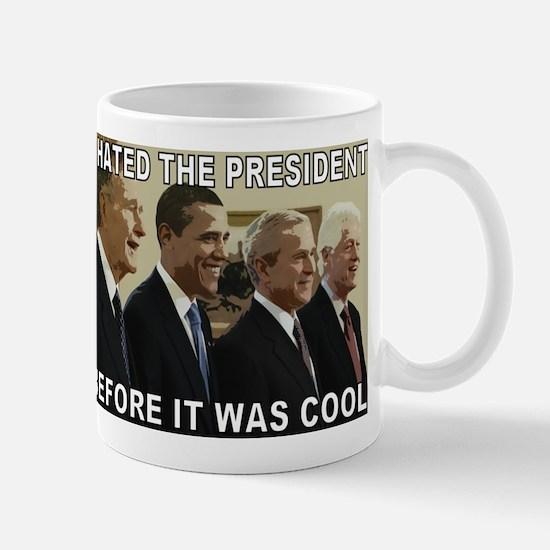 Old School President Hater Mug