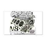 Original V8 22x14 Wall Peel