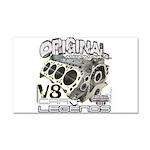 Original V8 Car Magnet 20 x 12