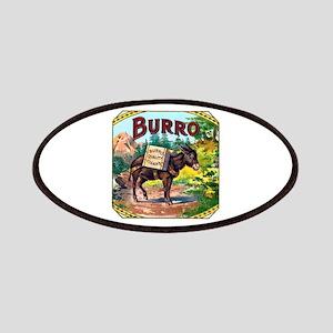 Burro Cigar Label Patches