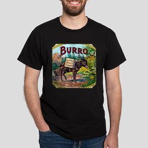 Burro Cigar Label Dark T-Shirt