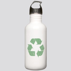 Vintage Recycle Logo Stainless Water Bottle 1.0L