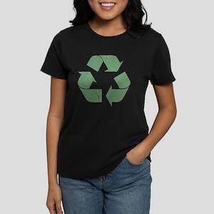 Vintage Recycle Logo Women's Dark T-Shirt