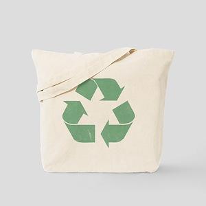 Vintage Recycle Logo Tote Bag
