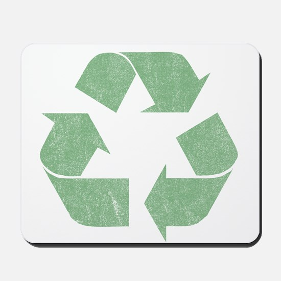 Vintage Recycle Logo Mousepad