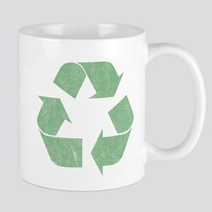 Vintage Recycle Logo Mug
