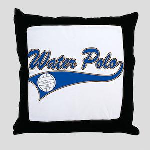 Water Polo 2 Throw Pillow