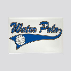 Water Polo 2 Rectangle Magnet