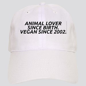 Vegan since 2002 Cap