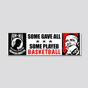 """""""Some Gave All"""" Car Magnet 10 x 3"""