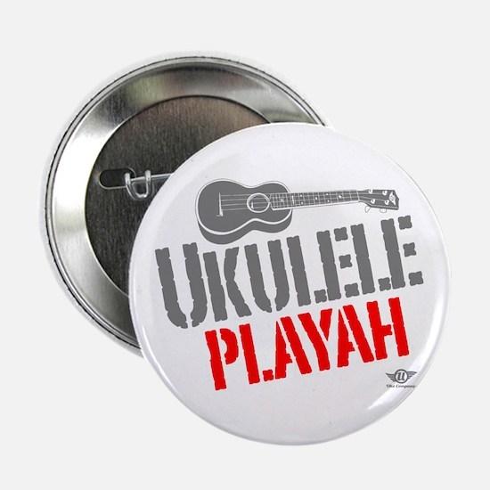"Ukulele Playah 2.25"" Button"