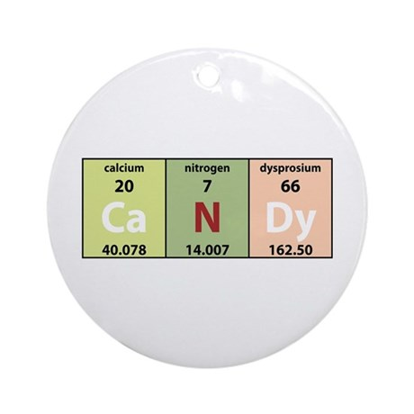Chemical Candy Ornament (Round)