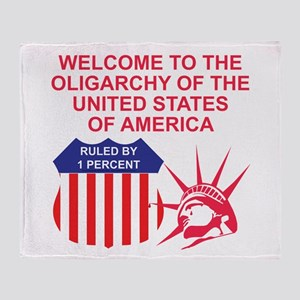 The Oligarchy Throw Blanket