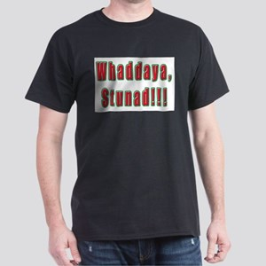 Italian Whaddaya Stunad Ash Grey T-Shirt