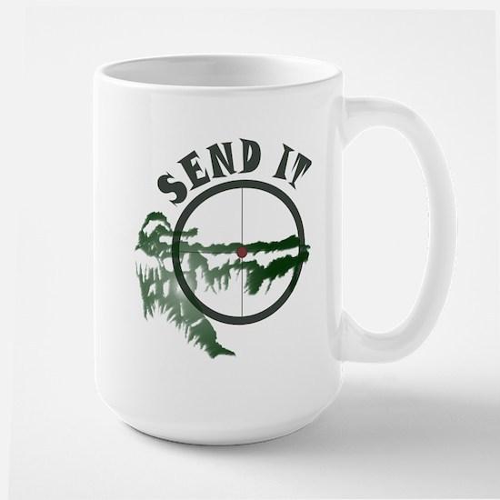 Send It Scope Large Mug