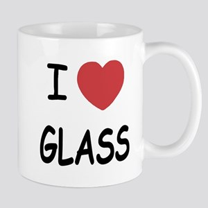 I heart glass Mug