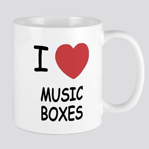 I heart music boxes Mug