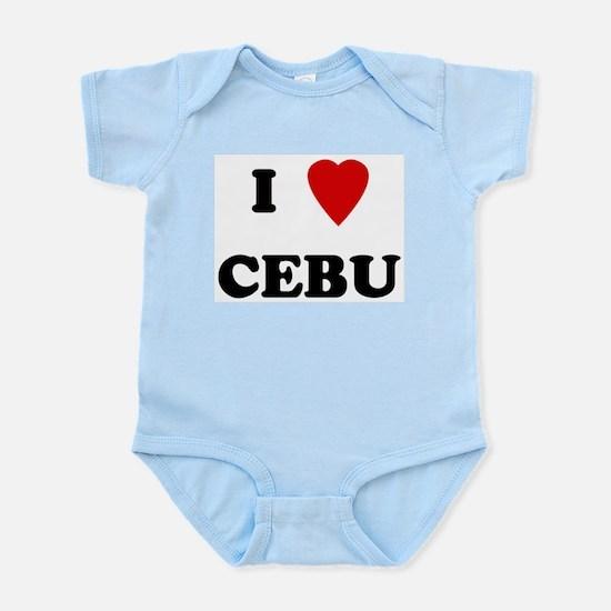 I Love Cebu Infant Creeper