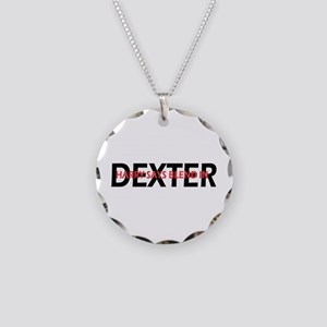 Dexter Harry said blend in. Necklace Circle Charm