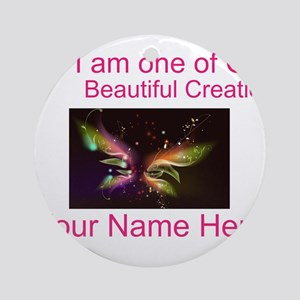 Beautiful Creations Ornament (Round)