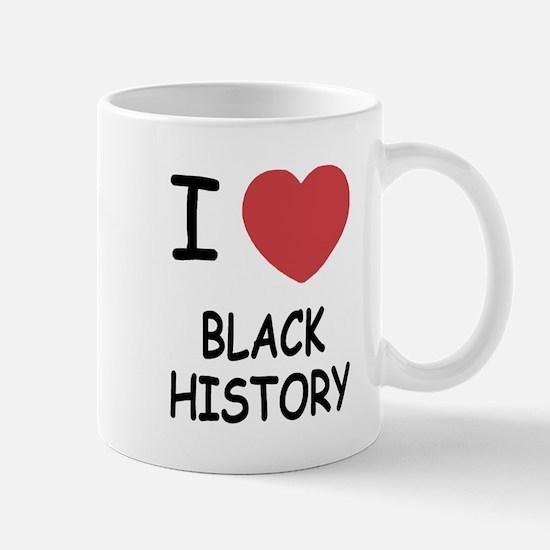 I heart black history Mug