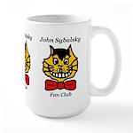 """John Sybalsky Fan Club"" Large Mug"