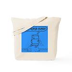 Tote Bag featuring Super Duper Tom