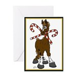 What Christmas Horse Greeting Card