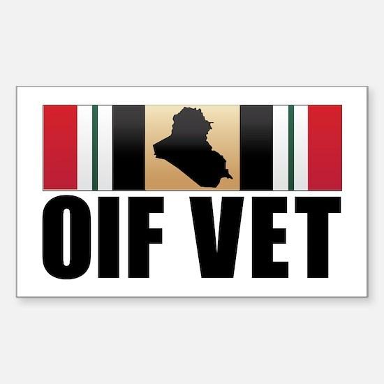 Operation Iraqi Freedom Veteran Decal
